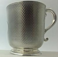 Superb Quality Victorian Silver Christening Mug by Edward Ker Reid London 1866 (5 of 5)