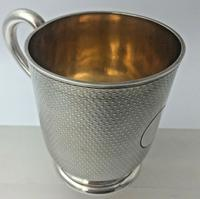 Superb Quality Victorian Silver Christening Mug by Edward Ker Reid London 1866 (3 of 5)