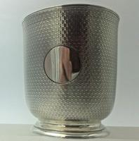Superb Quality Victorian Silver Christening Mug by Edward Ker Reid London 1866 (2 of 5)
