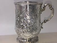 Superb Victorian Silver Christening Mug by James Charles Edington London 1854 (7 of 9)
