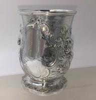 Superb Victorian Silver Christening Mug by James Charles Edington London 1854 (6 of 9)