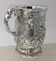 Superb Victorian Silver Christening Mug by James Charles Edington London 1854 (5 of 9)