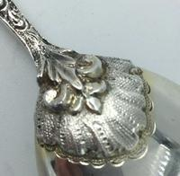 Substantial Silver Caddy Spoon William Edwards (Melbourne) London 1875 (4 of 8)