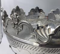 Beautiful Silver Monteith Bowl Punch Bowl Charles Stuart Harris London 1881 (4 of 7)