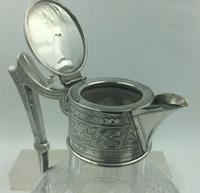 Superb Silver Mounted Cut Glass Claret Jug Walker & Hall Birmingham 1902 (7 of 9)