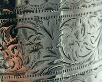 Superb Silver Mounted Cut Glass Claret Jug Walker & Hall Birmingham 1902 (6 of 9)