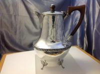 Silver Coffee Pot or Water Jug A E Jones Birmingham 1919