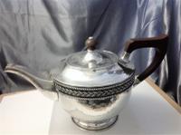 Silver Teapot by A E Jones Birmingham 1924