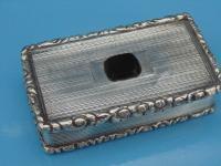 Silver Snuff Box Hallmarks 1833