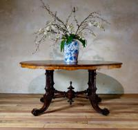 A 19th Century Walnut Breakfast - Centre Table