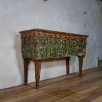 An Exceptional 19th Century Italian Venetian Painted Console Table