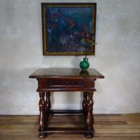 18th Century French Provincial Walnut Centre Side Table
