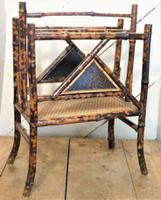 1920'S Bamboo/Chinoiserie Magazine RAck - Free U K Delivery