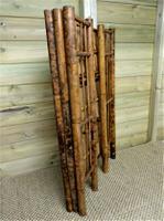Folding Bamboo Bookshelves - Compact Vintage Bookshelves 1920s (7 of 9)