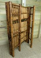 Folding Bamboo Bookshelves - Compact Vintage Bookshelves 1920s (6 of 9)