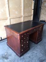 Mahogany Partners Desk (2 of 4)