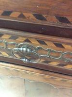 18th Century French Cherry Wood & Inlaid Cabinet Sagurrimes Cabinet Armoire Buffer (8 of 10)