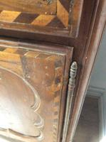 18th Century French Cherry Wood & Inlaid Cabinet Sagurrimes Cabinet Armoire Buffer (5 of 10)