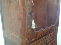 18th Century French Cherry Wood & Inlaid Cabinet Sagurrimes Cabinet Armoire Buffer (3 of 10)