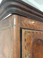 18th Century French Cherry Wood & Inlaid Cabinet Sagurrimes Cabinet Armoire Buffer (4 of 10)
