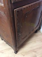 18th Century French Cherry Wood & Inlaid Cabinet Sagurrimes Cabinet Armoire Buffer (6 of 10)