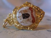 Vintage Pocket Watch Chain Fob 1950s 12ct Gold Plated Victoria Australia Fob (2 of 8)