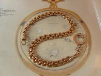Antique Pocket Watch Chain 1890s Victorian Large 12ct Rose Gold Filled Albert (2 of 12)