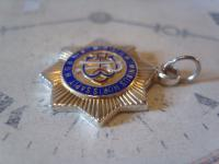 Vintage Silver Freemasons Pocket Watch Chain Fob 1950 Royal Order of Buffaloes (5 of 7)