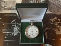 Antique Pocket Watch 1919 Victory Lever Swiss 7 Jewel Silver Nickel Case Fwo (11 of 11)
