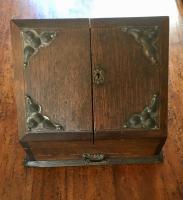 Victorian Oak Correspondence Box