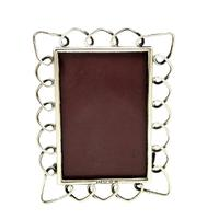 Antique Victorian Sterling Silver Ring Photo Frame
