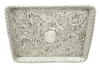 Antique Victorian Sterling Silver Dressing Tray 1900 (12 of 12)