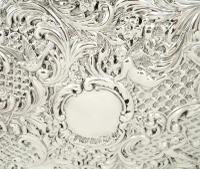 Antique Victorian Sterling Silver Dressing Tray 1900 (5 of 12)