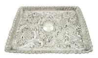 Antique Victorian Sterling Silver Dressing Tray 1900 (6 of 12)