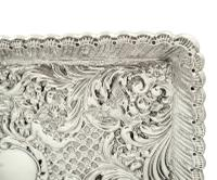 Antique Victorian Sterling Silver Dressing Tray 1900 (3 of 12)