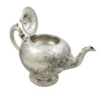 Antique Victorian Scottish Sterling Silver Teapot 1862 (8 of 11)