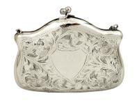 Antique Sterling Silver Purse 1917 (7 of 9)
