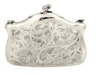 Antique Sterling Silver Purse 1917 (4 of 9)