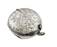 Antique Edwardian Sterling Silver Vesta 1907 (2 of 8)