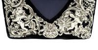 Antique Victorian Sterling Silver 'Cherubs' Photo Frame 1896 (7 of 10)