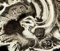Antique Victorian Sterling Silver 'Cherubs' Photo Frame 1896 (3 of 10)