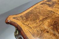 Victorian Burr Walnut Occasional Table Attributed To Gillows (4 of 8)