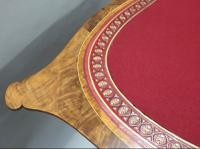 Victorian Burr Walnut Occasional Table Attributed To Gillows (7 of 8)