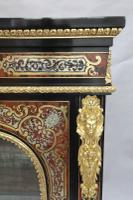 Pair of Victorian English Boulle Side Cabinets (5 of 11)