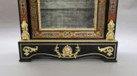 Pair of Victorian English Boulle Side Cabinets (6 of 11)
