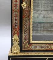 Pair of Victorian English Boulle Side Cabinets (7 of 11)