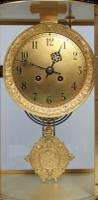 French Belle Epoque Mahogany Four Glass Mantel Clock by Japy Freres (2 of 8)