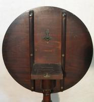 Georgian Figured Mahogany Tilt Top Tripod Table (7 of 7)