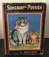 1925 Somebody's Pussies, First Edition by Louis Wain