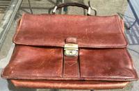 Gerard Henon 1960s / 1970s Leather Satchel / Bag